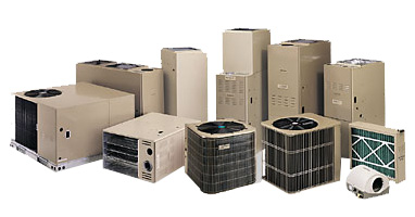 We offer a full lineup of heating and cooling products.
